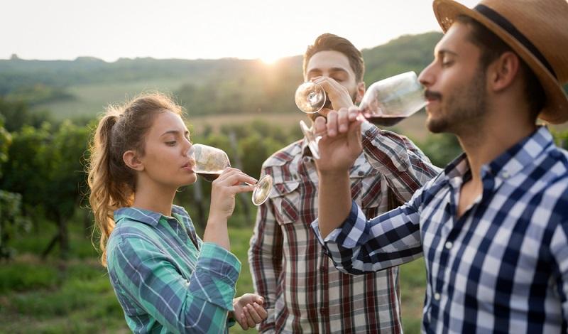Die Weinverkostung auf dem Weingut ist immer ein ganz besonderes Highlight. (#1)