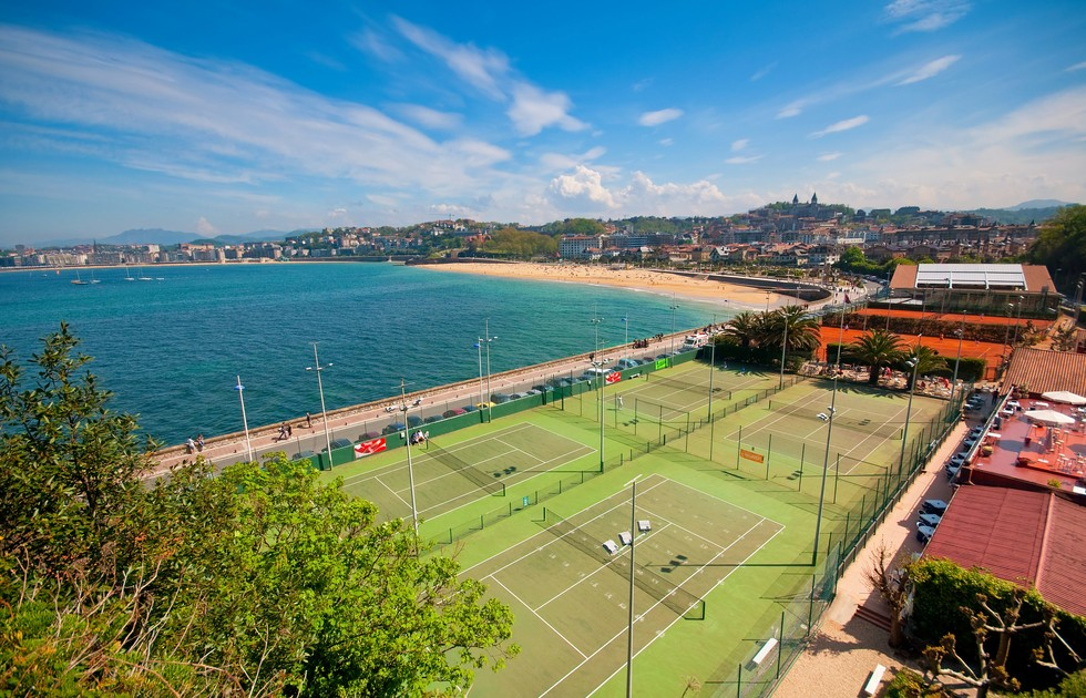 Nicht weit vom Sporthotel in MIlano Marittima gelegen:  der Tennisclub. (#2)